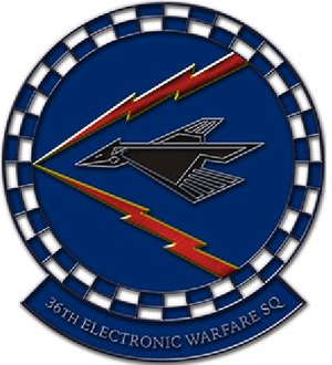 36th Electronic Warfare Squadron - Image: 36 Electronic Warfare Sq emblem