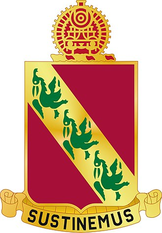 43rd Air Defense Artillery Regiment - Image: 43 ADA Rgt DUI