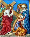 4 Jezus spotyka matke swoja, kolegiata, Lidzbark Warmiński.jpg