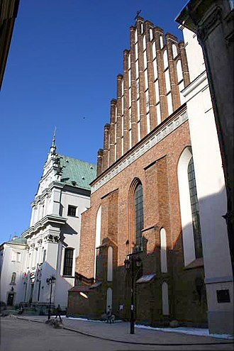 Roman Catholic Archdiocese of Warsaw - St. John's Cathedral after the post-war reconstruction