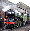 60163 Tornado at Tyseley Locomotive Works Tyseley 101 Gala 28 June 2009 pic 1.jpg