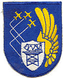 701st Aircraft Control and Warning Squadron (unit emblem patch)