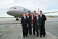 787 Dreamliner pilots with our CEOs (10167660853).jpg