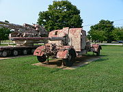 8,8 cm FlaK 41 at US Army Ordnance Museum.