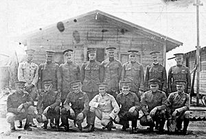 United States Army Border Air Patrol - Officers of the 8th Surveillance Squadron – McAllen Field Texas, 1920