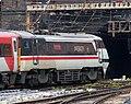 91119 LNER IC225 Inter City Swallow livery Gasworks Tunnel 030519.jpg