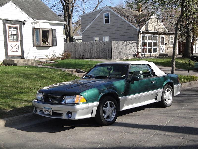 File:91 Ford Mustang (6912543556).jpg