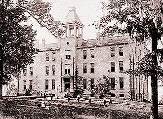 Tougaloo College - Strieby Hall in 1899.