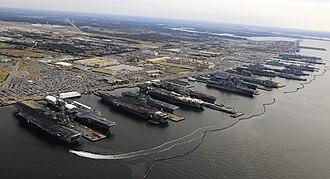 Naval Station Norfolk - NS Norfolk December 20, 2012