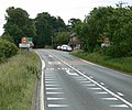 A47 Uppingham Road enters Tugby - geograph.org.uk - 885963.jpg