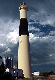 lighthouse in New Jersey, United States