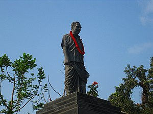 A. K. Gopalan - AKG Statue located at Kannur