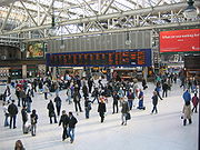 Glasgow Central station is the northern terminus of the West Coast Main Line