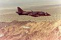 AV-8A Harrier of VMA-231 drops Rockeye bomb in 1979.jpg
