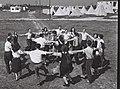 A HORA DANCE AT KIBBUTZ DALIA. ריקוד ההורה בקיבוץ דליה.D827-025.jpg