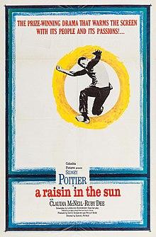 A Raisin in the Sun (1961 film poster).jpg
