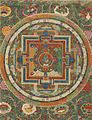 A Thangka depicting a Vajra Nairatmya Mandala. Tibet, 18th-Century.jpg