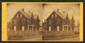 A clapboard house with gingerbread trim, by Newell, R., d. 1897.png