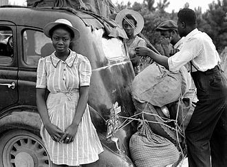 Shawboro, North Carolina - Migrant workers in Shawboro, c. 1940