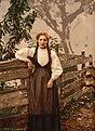 A girl of Voss, Hardanger Fjord, Norway LOC 3175015912.jpg