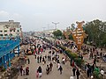 A huge art installation at the site of the Shaheen Bagh protests made by protesters 17 Jan 2020.jpg