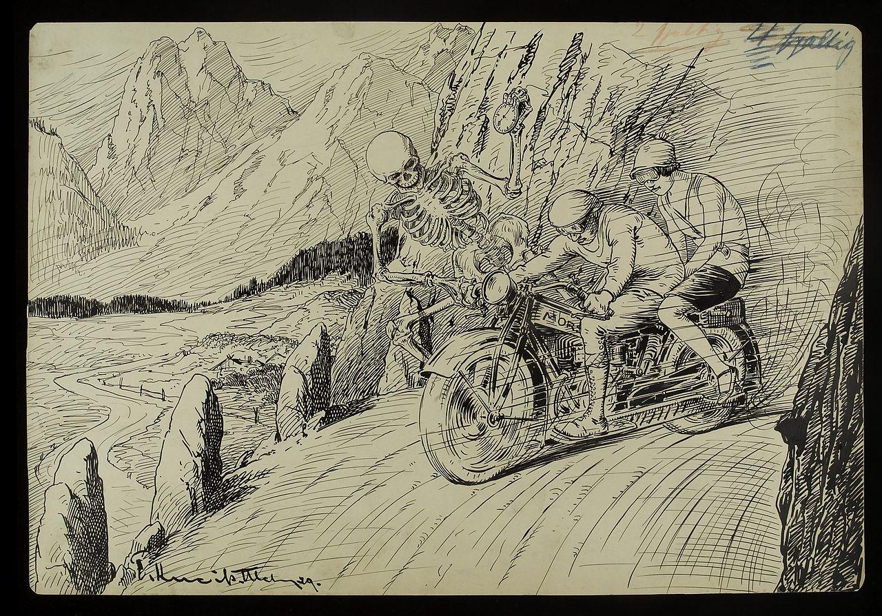 Мотоцикл в искусстве
