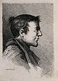 A man in profile; a physiognomic caricature. Engraving by B. Wellcome V0009448EL.jpg