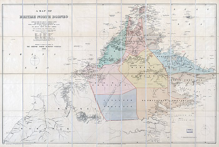 North Borneo, 1888.