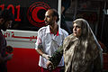 A mother reached the hospital safe with her martyr son. 782014.jpg
