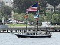 A nicely decorated schooner, the Freda B (14049382721).jpg