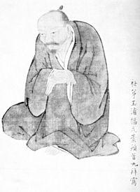 A portrait of Ike Taiga by Fukuhara Gogaku 池大雅像 福原五岳.jpg