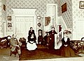 """A scene from """"David Harum"""" which opened April 22 (SAYRE 12735).jpg"""
