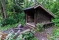 A shelter by the lake Vällen, Upplandsleden, Sweden 26.jpg