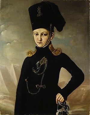 Matvey Dmitriev-Mamonov - Cossack of the Mamonov regiment