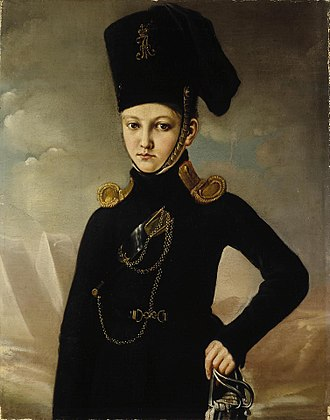 Matvey Dmitriev-Mamonov - Cossack of the Mamonov regiment