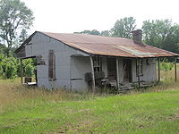 Abandoned house in Claiborne Parish, LA IMG 3599