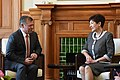 Abdullah II and Patsy Reddy in the Liverpool Room.jpg
