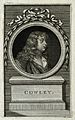Abraham Cowley. Line engraving by J. Hall, 1777, after C. F. Wellcome V0001324.jpg