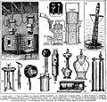 Acetylene, utilisation, planche, etc. - Acetylene, historical line drawings of applications etc. Public domain illustration from Larousse du XXème siècle 1932.jpg