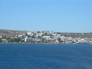 English: Adamas, Milos island, Greece Ελληνικά...
