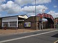 Addlestone station south entrance.JPG
