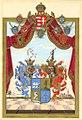 Adelsdiplom - Szepesházy 1798 - Wappen.jpg