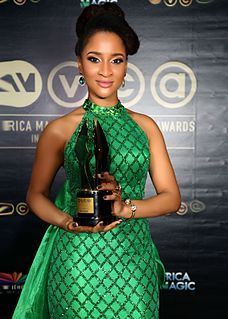 Adesua Etomi Nigerian actress