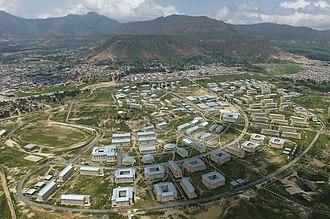 Adigrat - The Adigrat University grounds