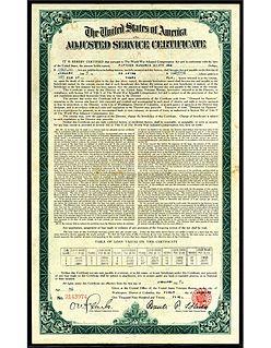 World War Adjusted Compensation Act