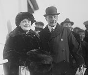 Admiral Jellicoe and wife 1924