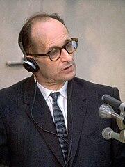 Adolf Eichmann at Trial1961