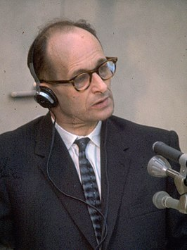 Adolf Eichmann in 1961