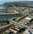 Aerial view of Magnolia Bridge, Seattle, 2002.jpg