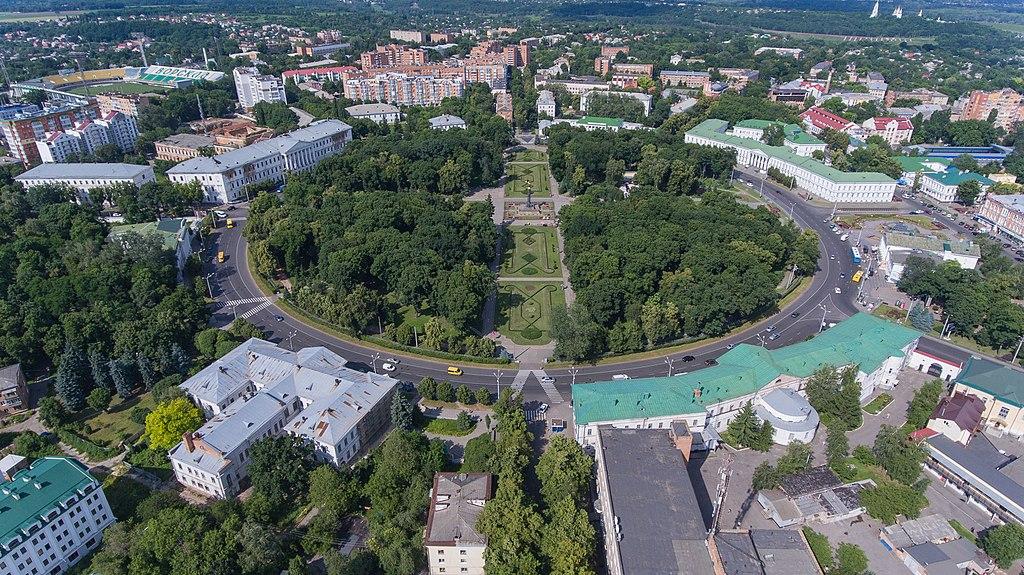 Полтава – как русский город превращается в украинское мiсто в картинках и